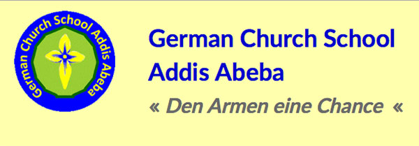 Logo der German Church School in Addis Abeba